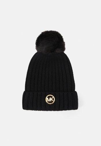 PATCH BEANIE - Muts - black/gold-coloured