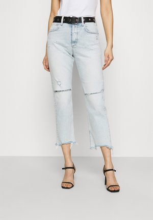 ROSE COLLECTION MAIJKE PANTS - Jeans a sigaretta - light blue