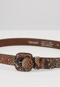 Vanzetti - Belt - dunkelbraun/multi - 4