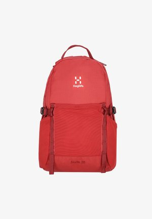SKUTA - Rucksack - brick red/light maroon red