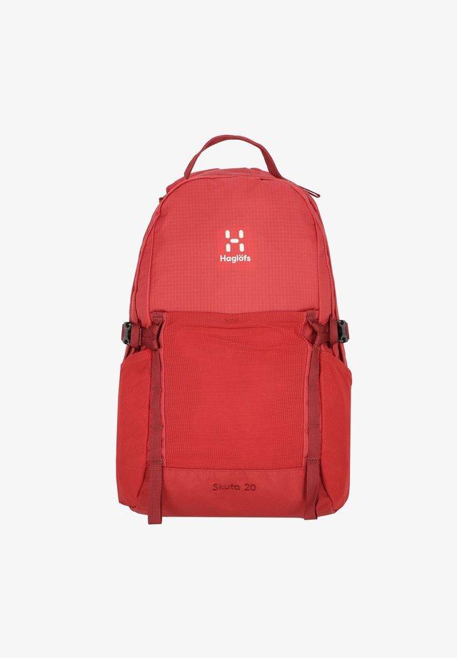 SKUTA - Sac à dos - brick red/light maroon red