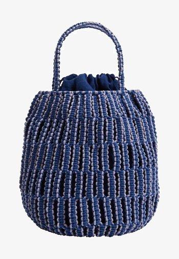 EMBOLO - Handbag - blau