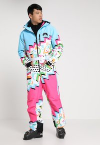 OOSC - NUTS CRACKER - Snow pants - multi-coloured - 0