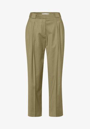 SHRUB - Trousers - sage green