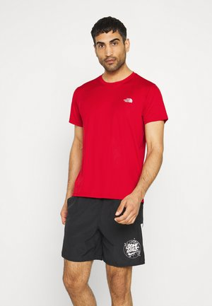 MEN'S REAXION AMP CREW - T-Shirt basic - red