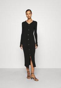 HUGO - SAFFAT - Jumper dress - black - 0