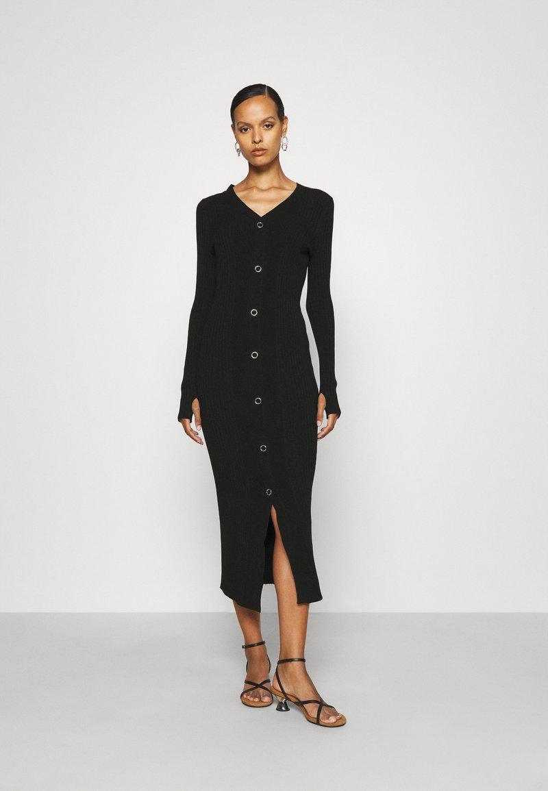 HUGO - SAFFAT - Jumper dress - black