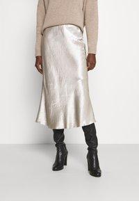 Max Mara Leisure - ALESSIO - A-line skirt - platino - 0