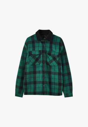 Camicia - mottled green