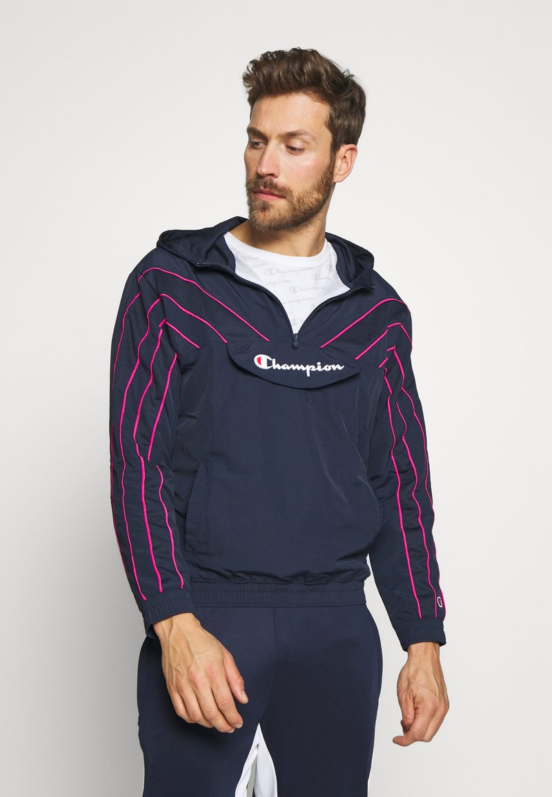 Champion - ROCHESTER ATHLEISURE HALF ZIP - Giacca sportiva - dark blue