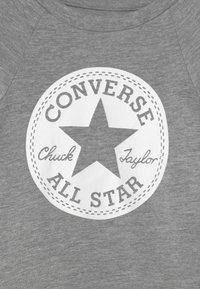 Converse - SCRIPT LOGO SET - Leggings - Trousers - dark grey heather - 3