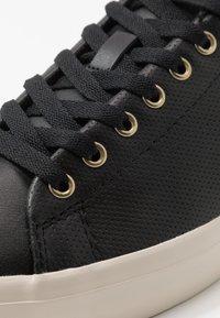 Polo Ralph Lauren - LONGWOOD UNISEX - Tenisky - black - 5