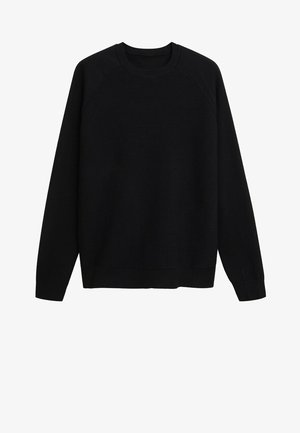 LUXUS - Pullover - black
