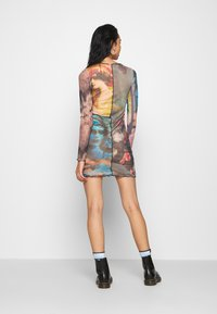 Jaded London - PANELLED DRESS WITH BABYLOCK SEAMS MASH UP VINTAGE PRINTS - Day dress - multi-coloured - 2