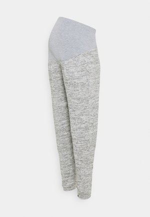 BRUSHED OVER BUMP JOGGER - Trousers - grey marl