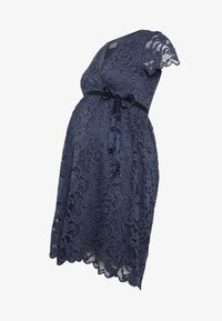 MAMALICIOUS - MLMIVANE TESS DRESS - Cocktail dress / Party dress - blue indigo - 4