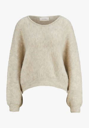 OVERSIZED - Fleece jumper - poudreuse chine