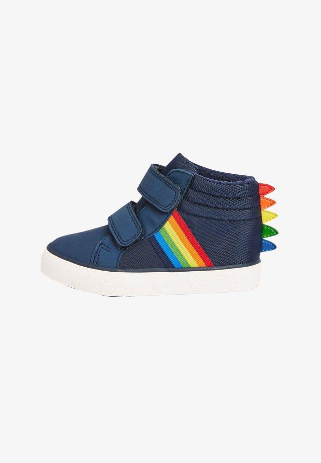 RAINBOW DINOSAUR SPIKE - Classic ankle boots - blue