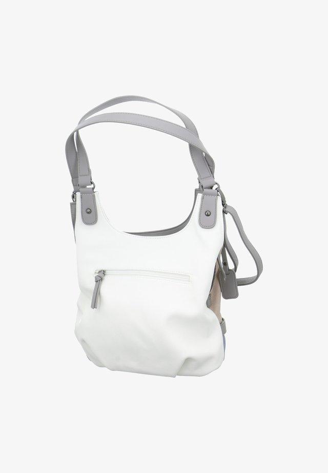 Handbag - weiß-kombi
