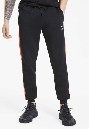 Tracksuit bottoms - cotton black