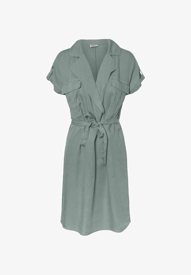 Noisy May - NMVERA ENDI SHIRT DRESS - Day dress - slate gray