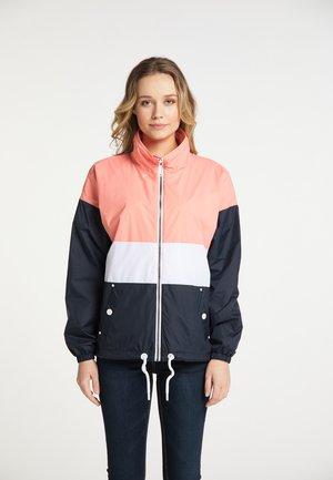 Summer jacket - flamingo nachtblau
