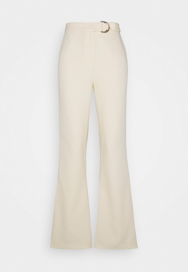 REID TROUSER - Kangashousut - off-white