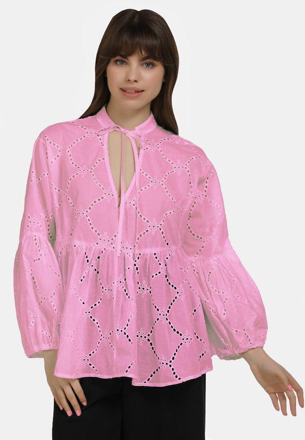 myMo BLUSE - Bluzka - pink/rÓżowy MLMU