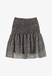 America Today - ROMY - Mini skirt - black/white - 0