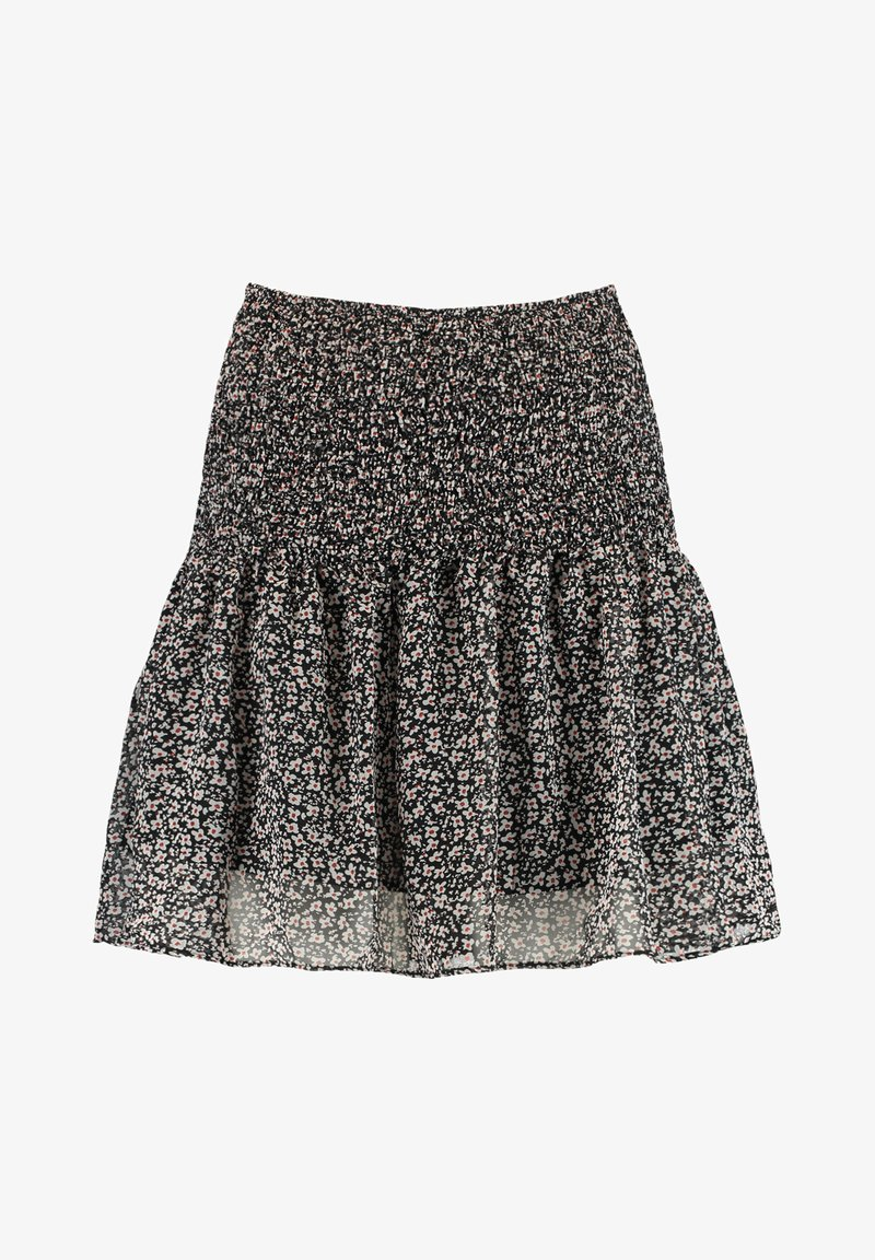 America Today - ROMY - Mini skirt - black/white