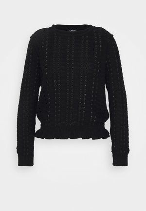 ONLREESE LIFE SMOCK PULLOVER - Pullover - black