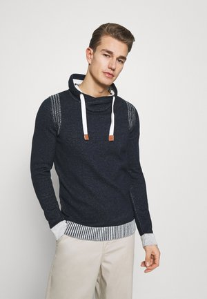 PLATED SNOOD  - Jumper - navy