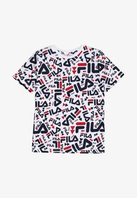Fila - KIDS ZARA TEE - Camiseta estampada - white - 2