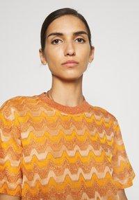 M Missoni - Print T-shirt - pumpkin - 3