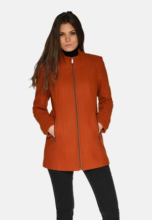 Winter jacket - burnt orange