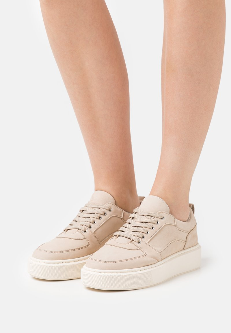 Anna Field - LEATHER - Trainers - taupe