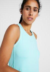 Nike Performance - DRY DRESS - Sportovní šaty - light aqua/white - 3