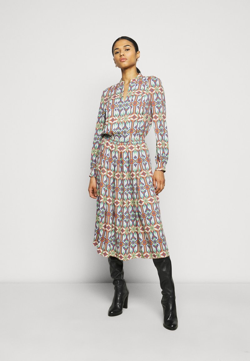 Tory Burch - GARDEN MAZE - Day dress - multi-coloured