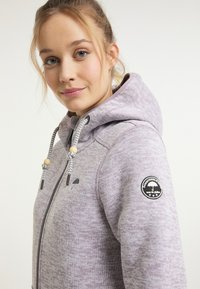 Schmuddelwedda - Fleece jacket - rauchlila melange - 3