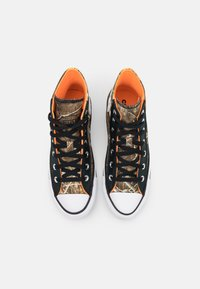 Converse - CHUCK TAYLOR ALL STAR UNISEX - High-top trainers - black/multicolor/white - 3