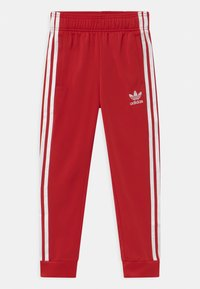 adidas Originals - ADICOLOR SST TRACK PANTS - Trainingsbroek - scarlet/white - 0