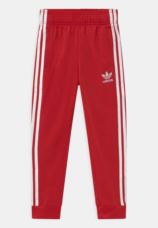 UNISEX - Pantalon de survêtement - scarlet/white