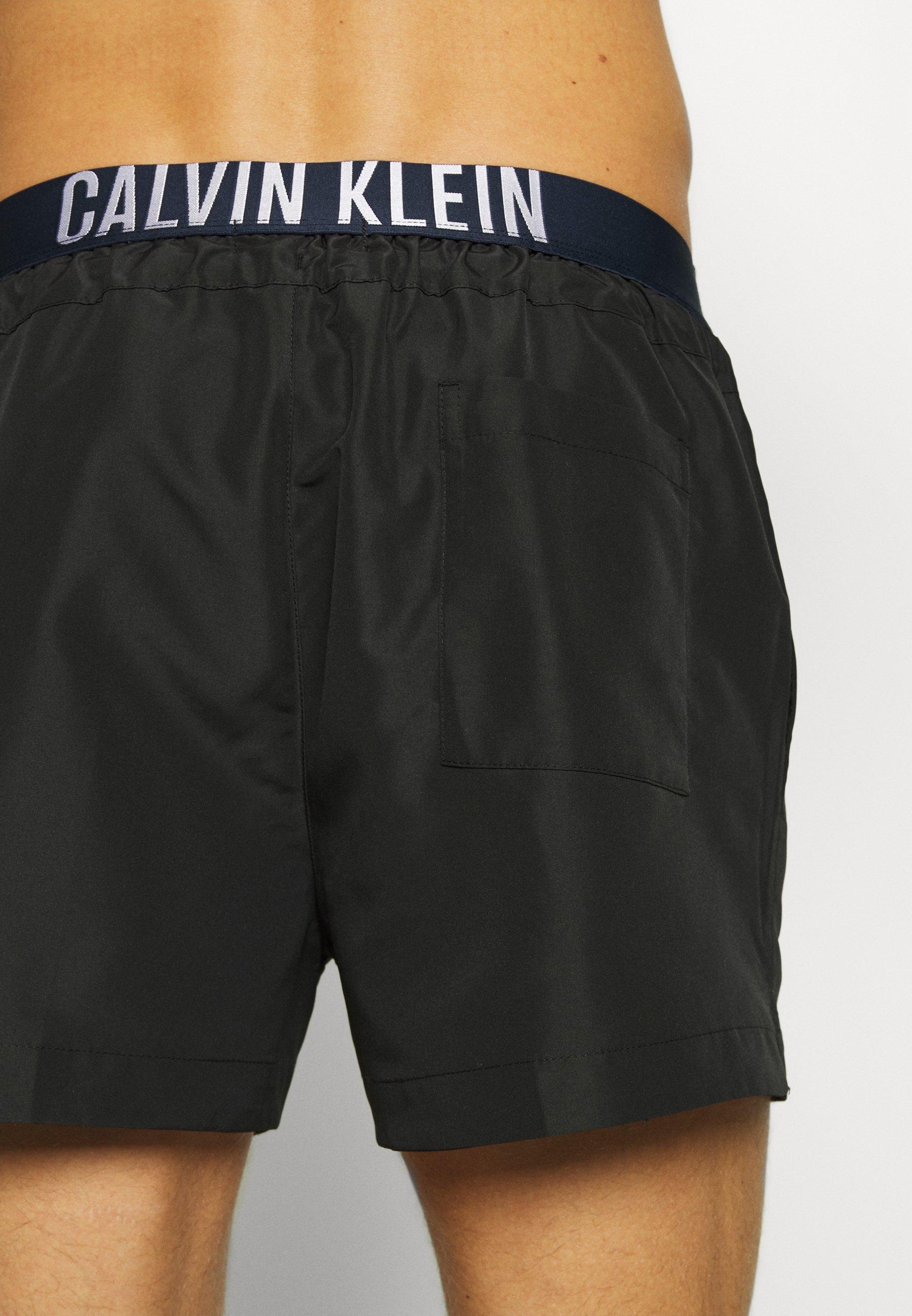 Calvin Klein Swimwear DRAWSTRING - Short de bain - black