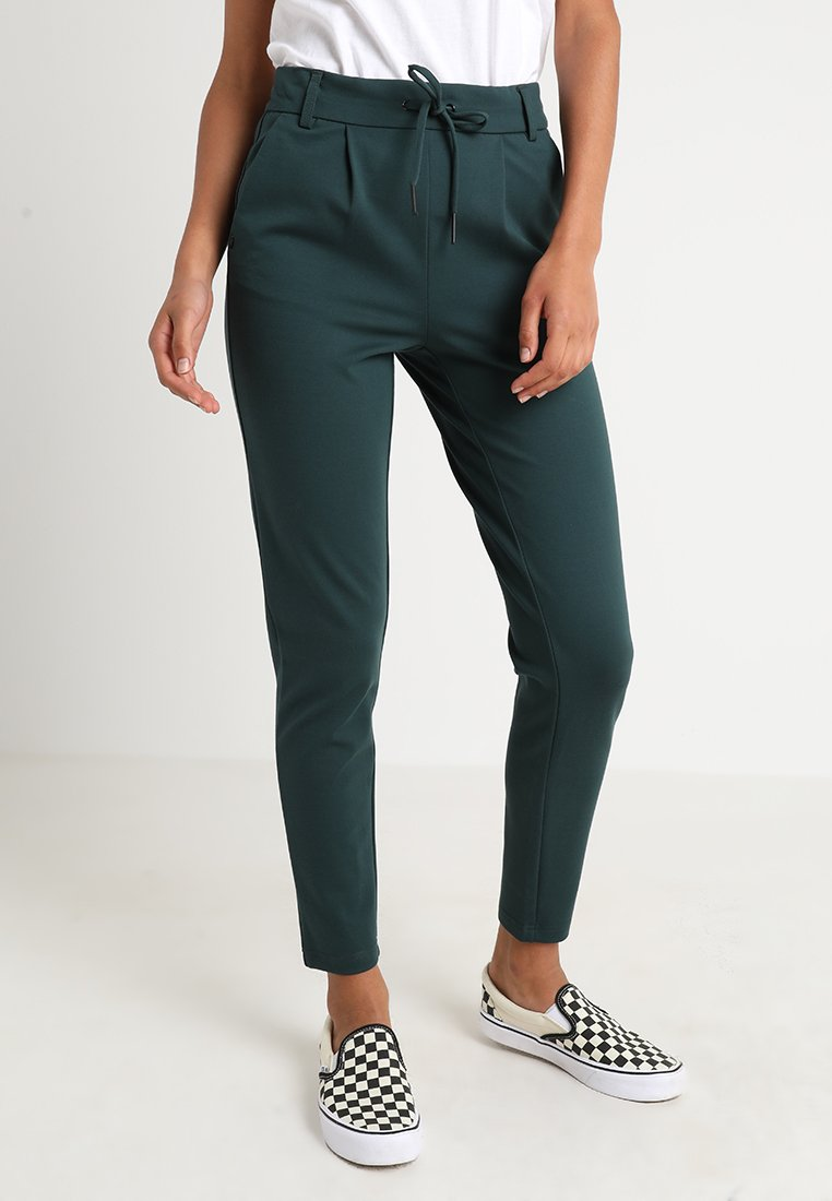 ONLY - POPTRASH EASY COLOUR  - Tracksuit bottoms - green gables