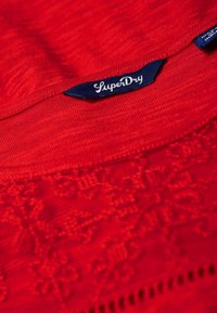 Superdry - Long sleeved top - red - 4