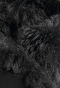 VSP - MELBORUNE NATUREL TABACCO - Kurtka skórzana - black antracite - 2