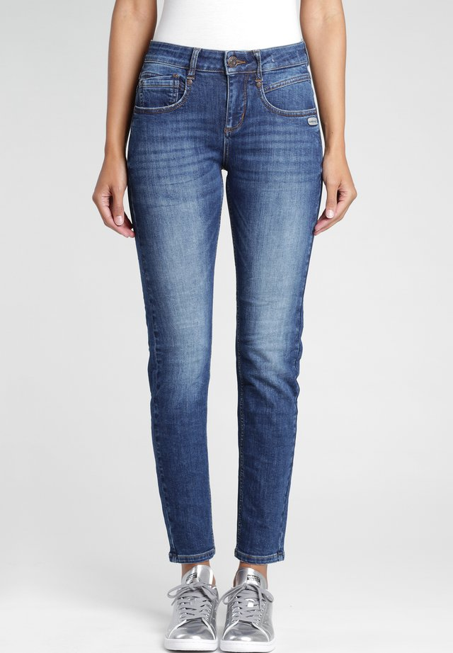 MASSIMA - Slim fit jeans - indigo basic