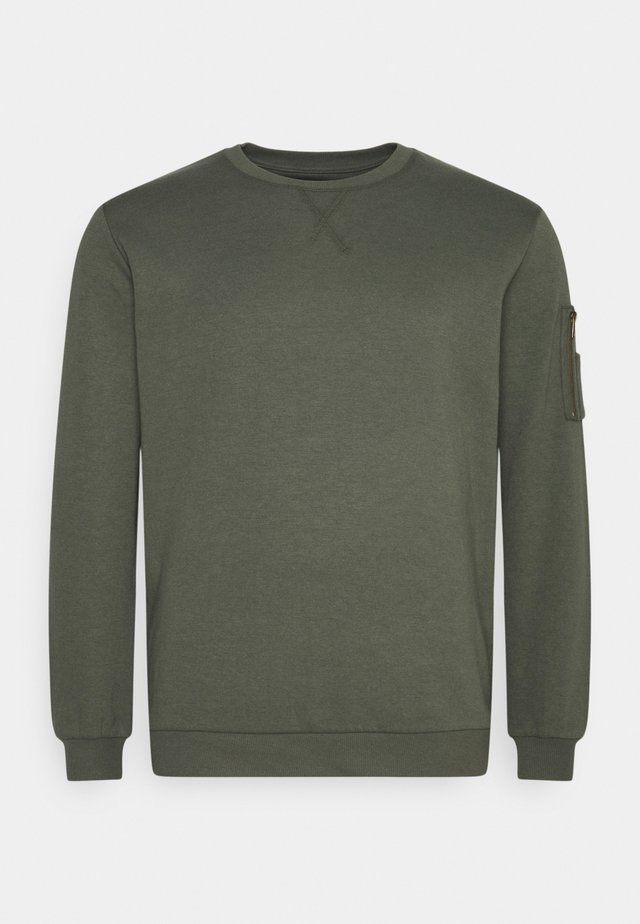 BRENT CREW - Sweater - sage