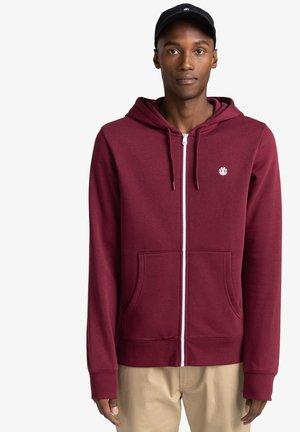 CORNELL CLASSIC - Zip-up sweatshirt - vintage red
