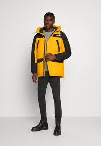 The North Face - HIMALAYAN INSULATED PARKA - Vinterfrakker - summit gold/black - 1